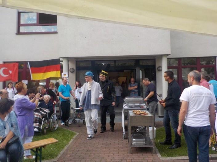 Ferdinand Dienst Haus -Seniorenheim Herne - Sommerfest 2015