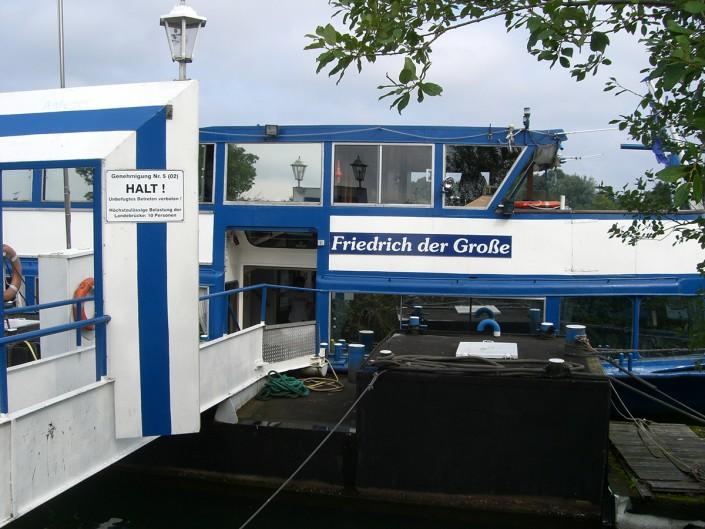 Ferdinand Dienst Haus -Seniorenheim Herne - Schifffahrt 2015